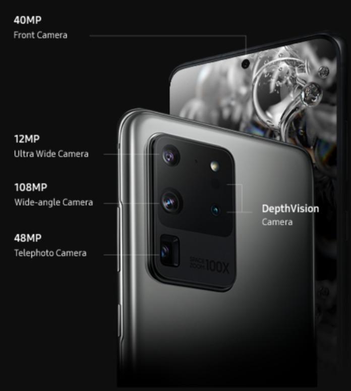 Samsung Galaxy S20 Ultra Kamera Leak