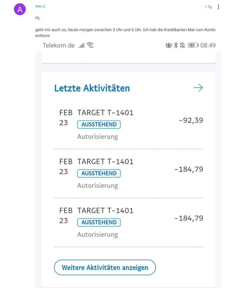 Target Paypal