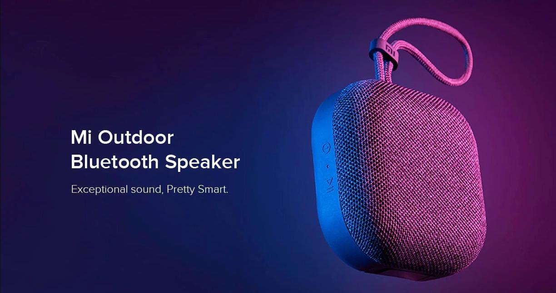 Mi Outdoor: Xiaomis neuester Bluetooth-Lautsprecher für unterwegs