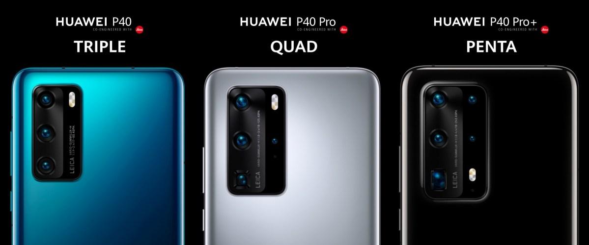 Huawei P40 Kameras