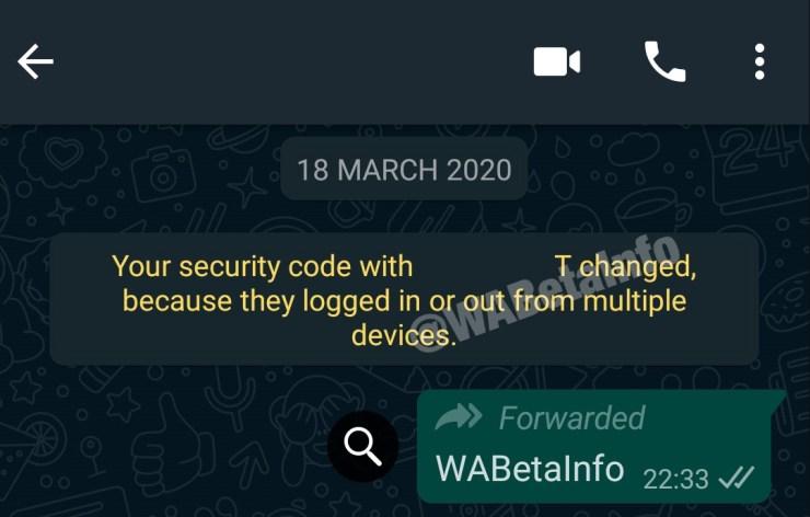 Multi Geräte Whatsapp Leak