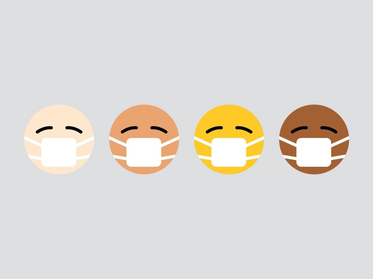 Emoji Corona Colors Header