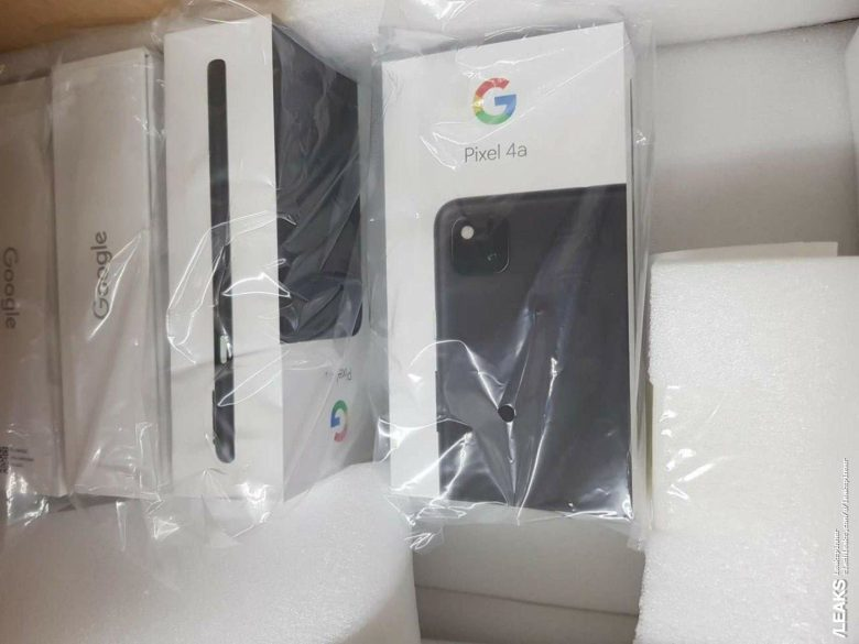 Google Pixel 4a Retail Box Confirms Rear Camera Layout