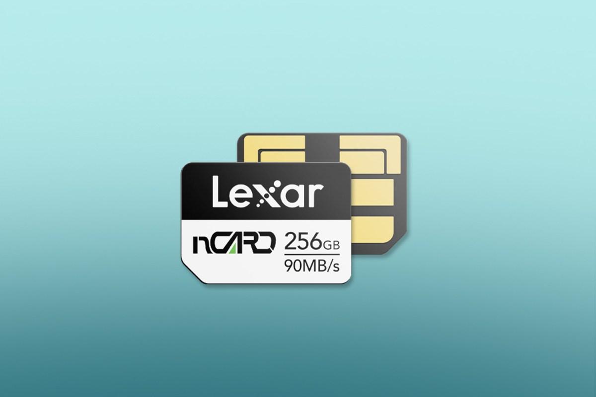 Lexar Ncard Press