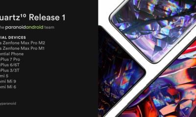 Quartz 10 Release 1 Paranoid Android