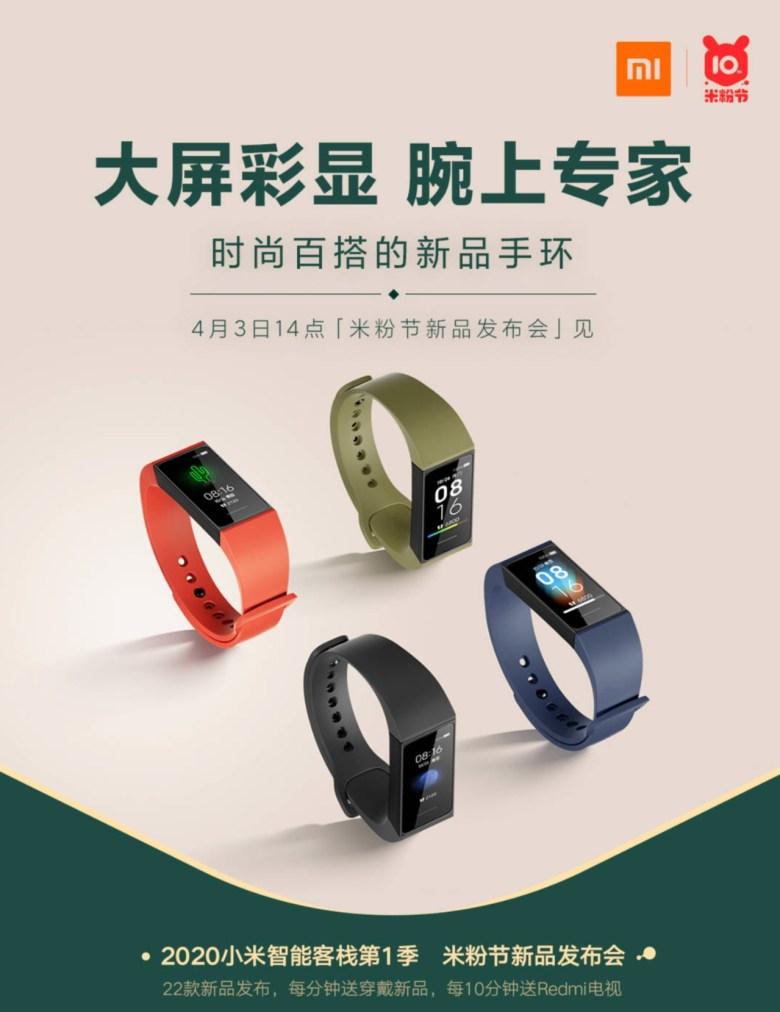 Redmi Smartes Armband Plakat