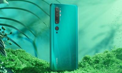 Xiaomi Mi Note 10 Pro Grün