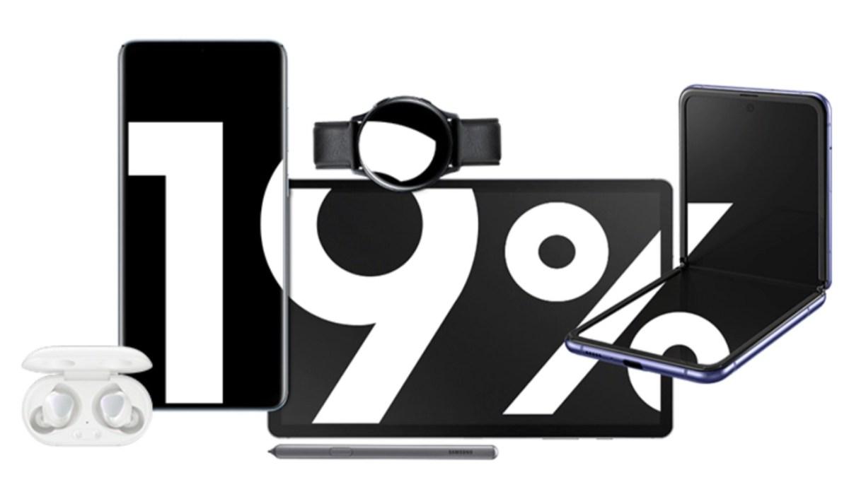 19 Prozent Aktion Samsung Shop