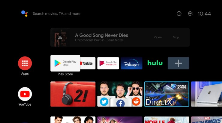 Android Tv Musik Cast