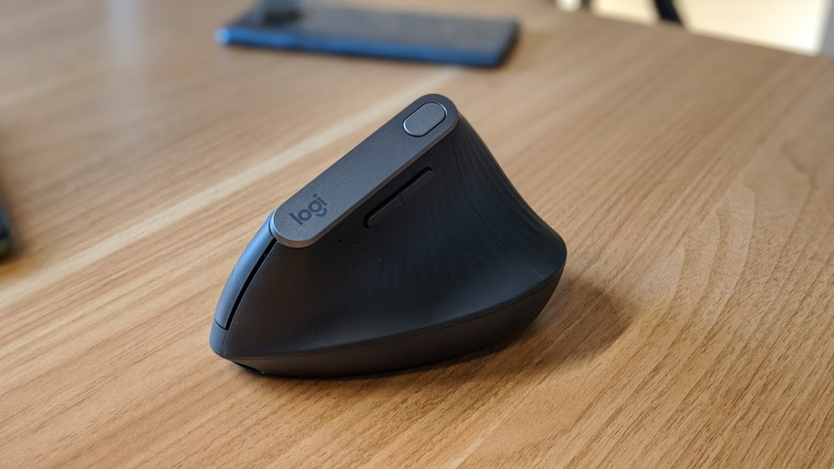 Logitech Mx Vertical Test