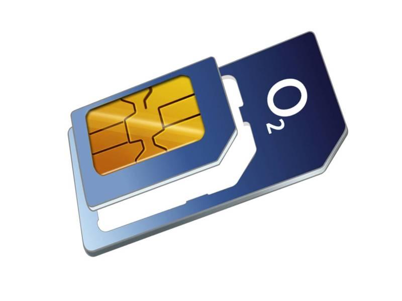 O2 Telefonica Sim Karte Logo Head