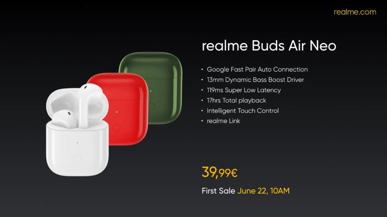 Realme Buds Air Neo Plakat