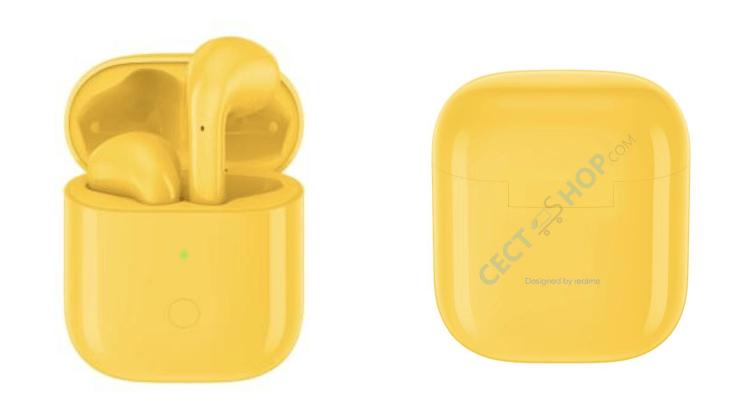 Realme Buds Air Yellow Cect Header