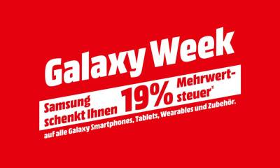 Samsung Galaxy Week 2020 Mediamarkt Saturn Aktion