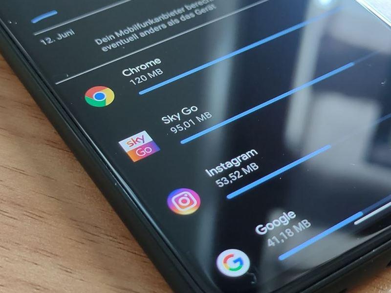 Datennutzung Android Einstellungen