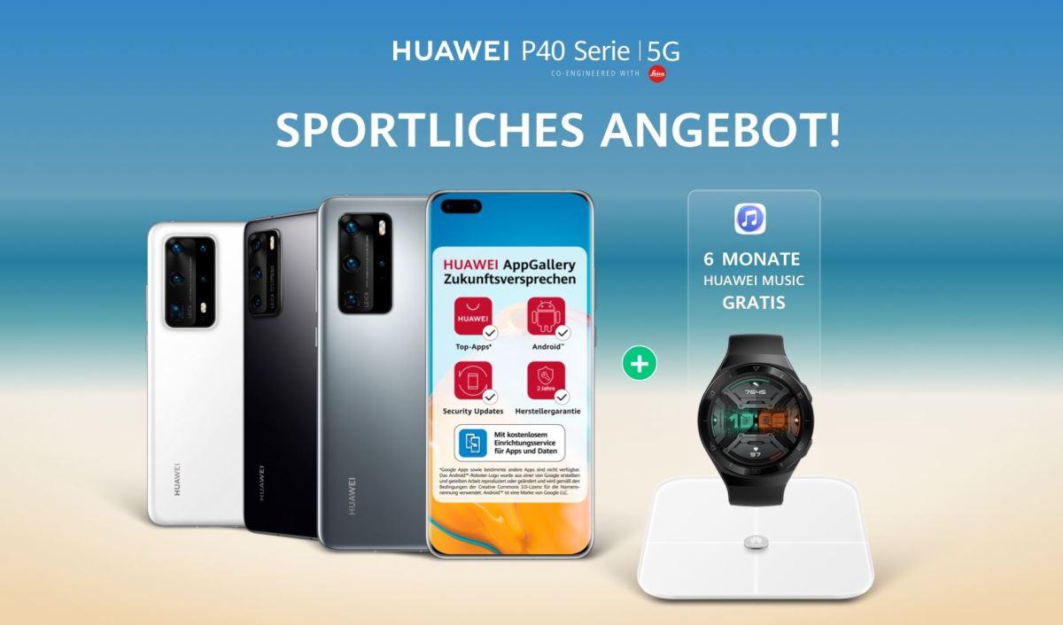 Huawei Sportliches Angebot 2020