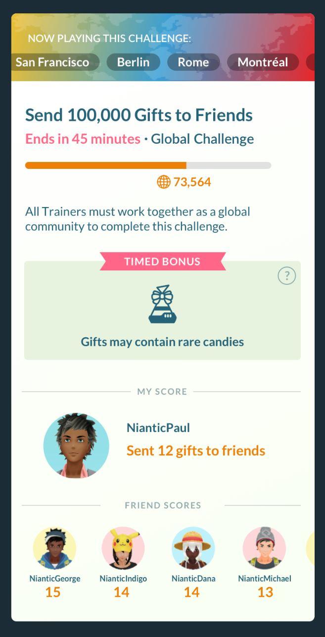 Pokemon Go Fest 2020 Screenshot