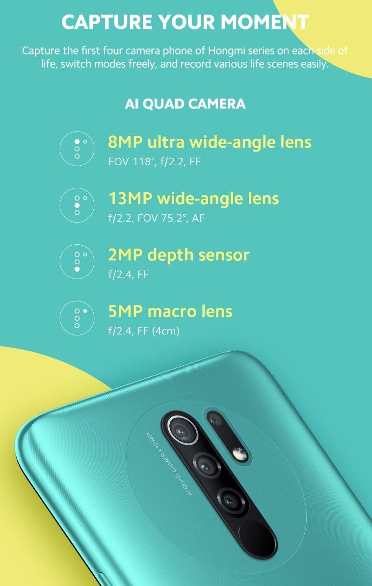 Redmi 9 Kamera Leak
