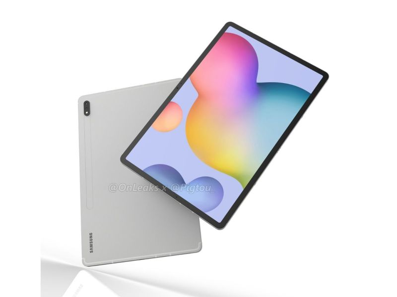 Samsung Galaxy Tab S7 Plus Render Leak Pigtou