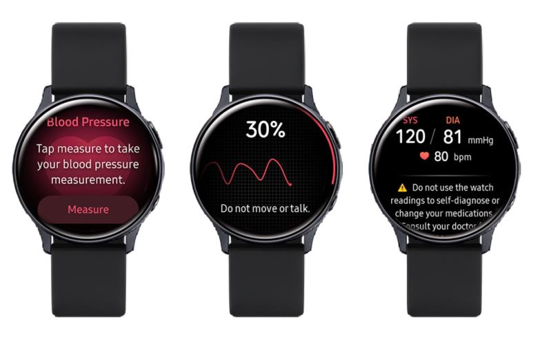 Samsung Watch Blutdruck