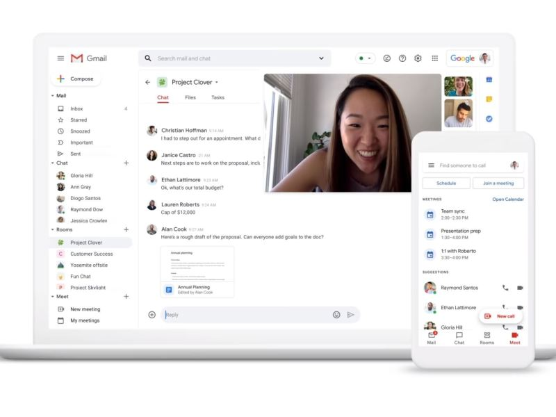 Gmail Head Juli 2020