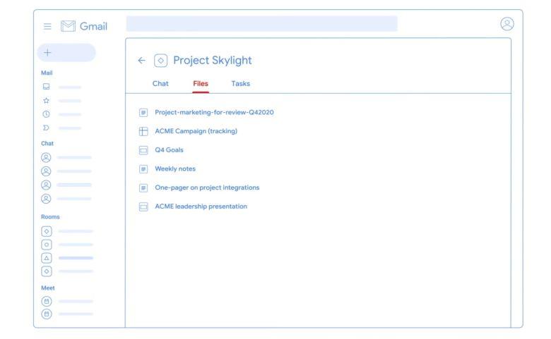Gmail Umbau Juli 2020