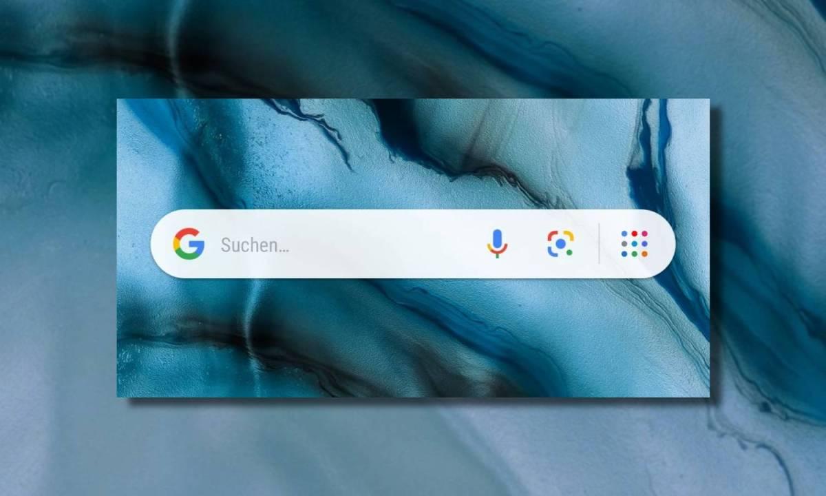 Google Go Suchleiste