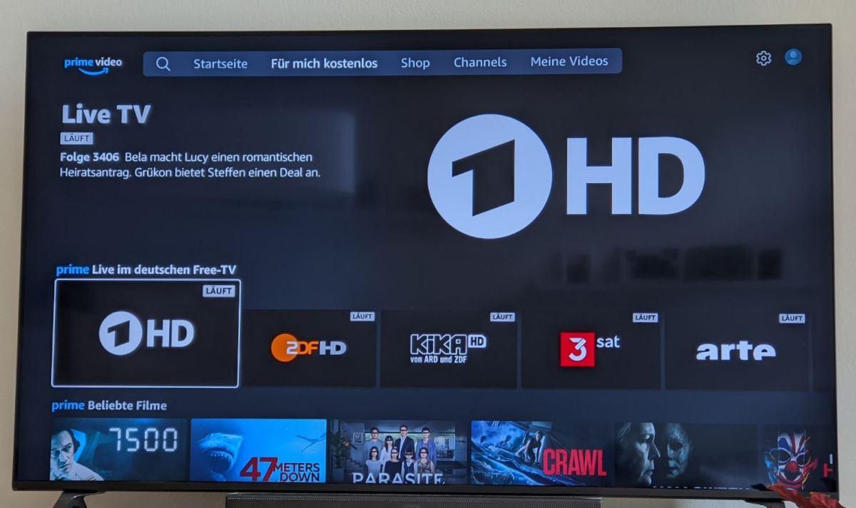 Live Tv Ard Amazon Prime Video Fire Tv