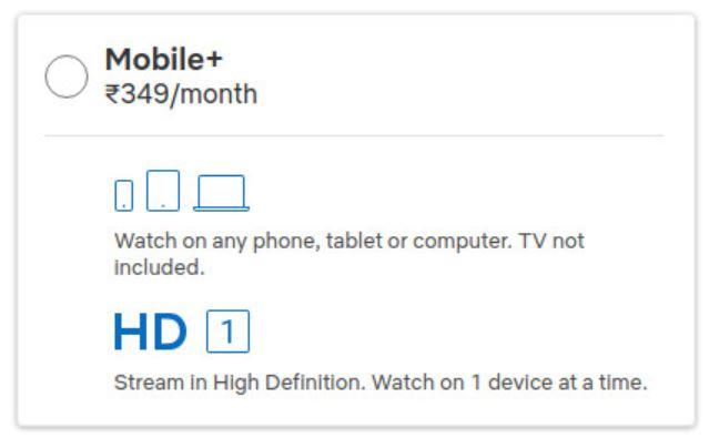 Netflix Mobile Hd Paket