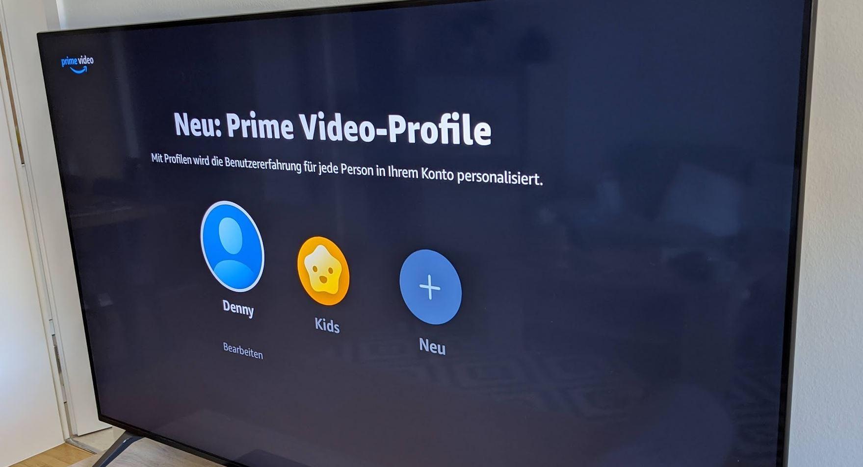 Endlich da: Profile in Amazon Prime Video