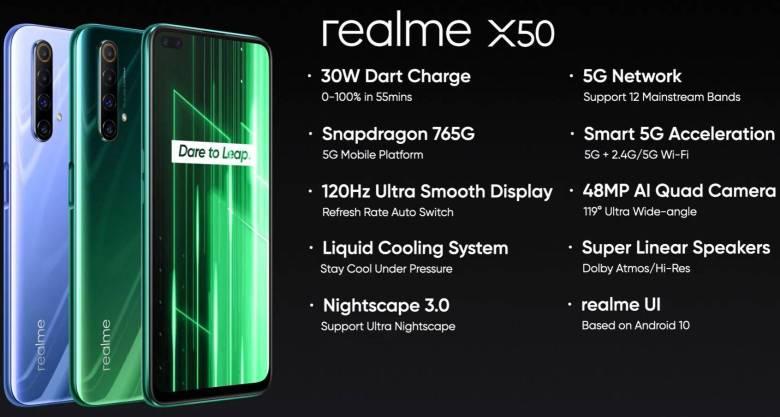 Realme X50 Datenblatt (1)