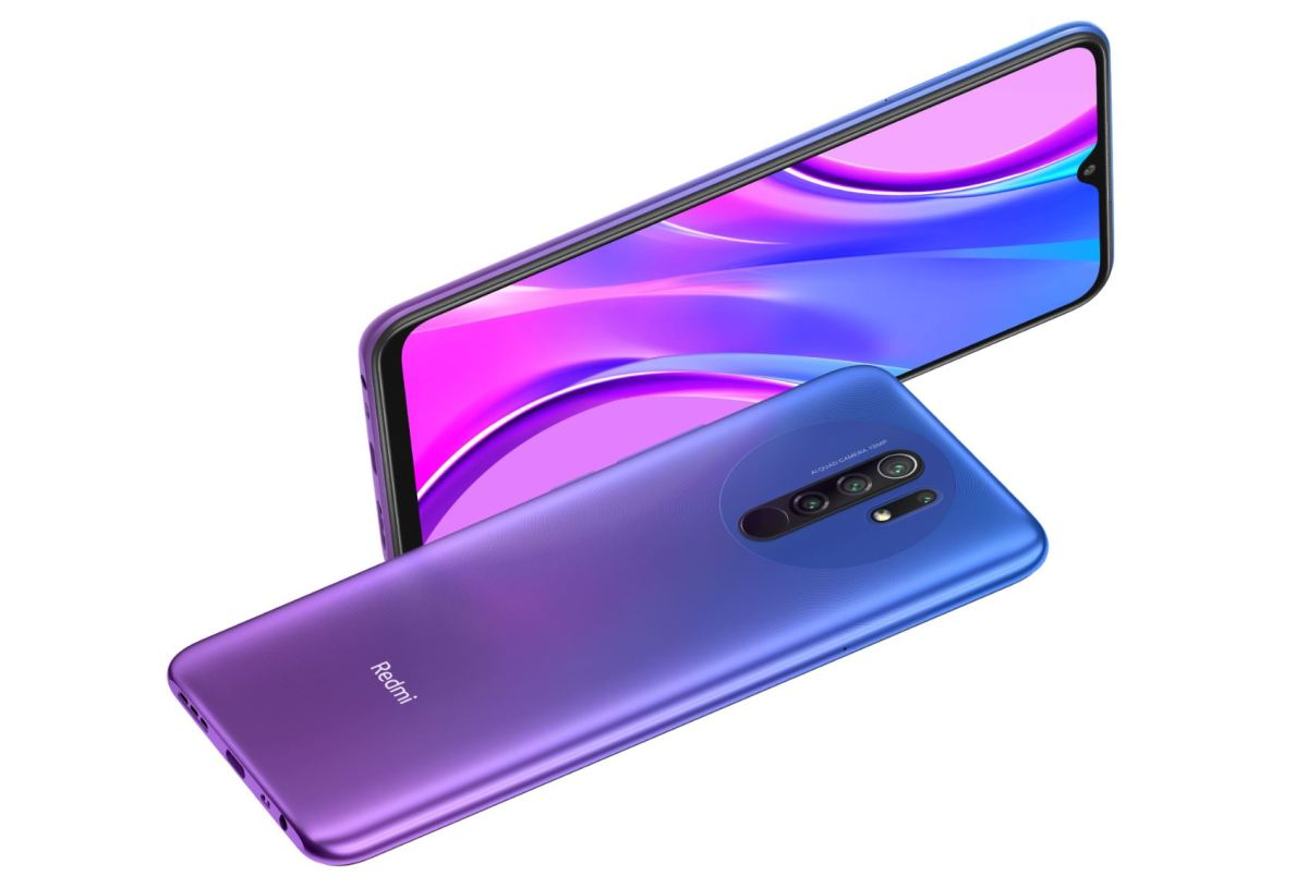 Redmi 9 Purple Blau