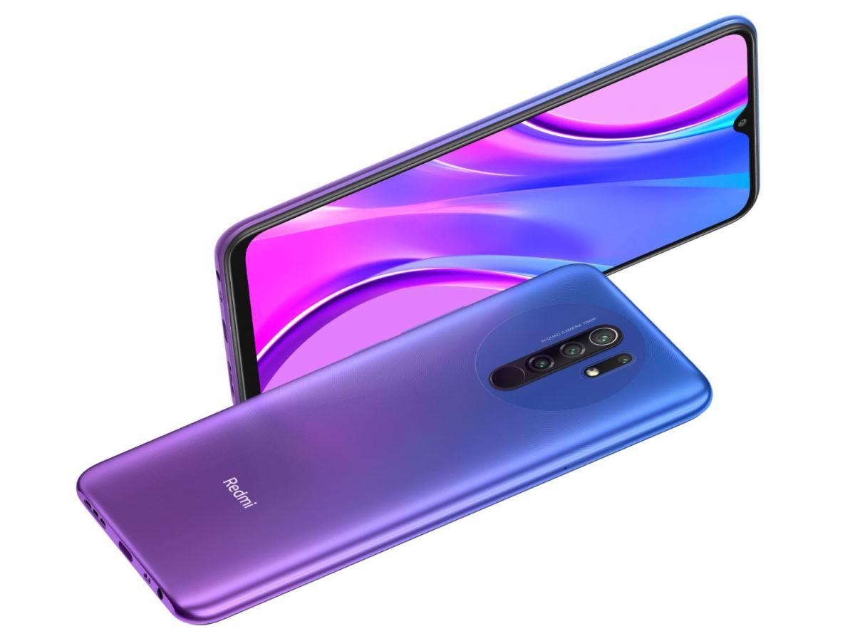 Redmi 9 Purple Blau