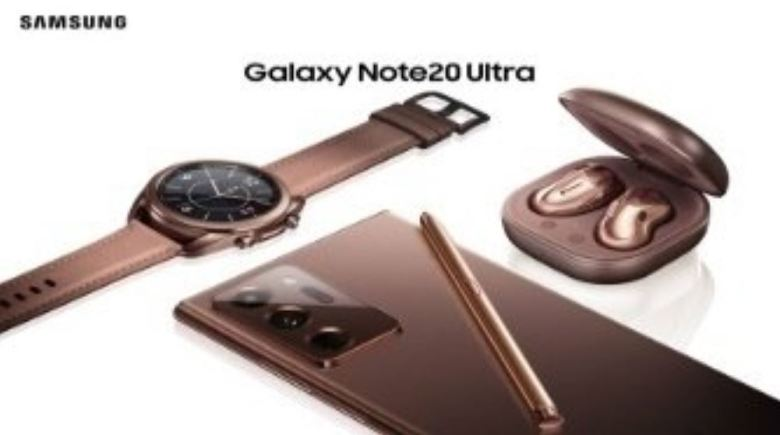 Samsung Galaxy Note 20 Watch 3 Buds Live Leak