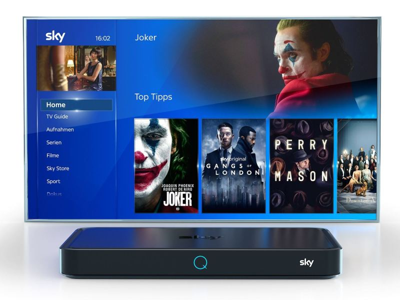 Sky Q Receiver Joker Head