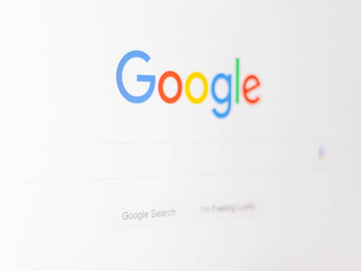 Google logo suche search screenshot