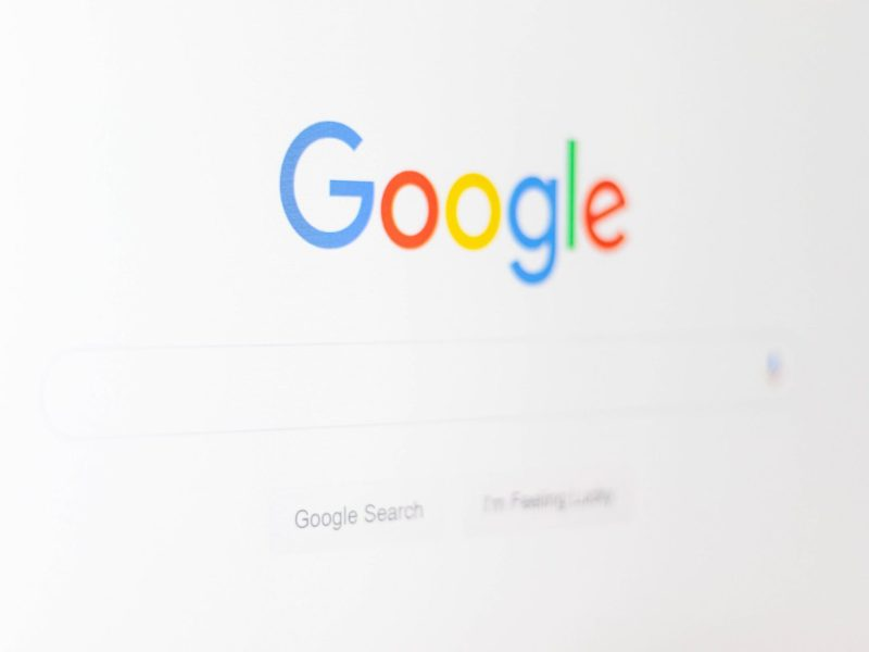 Google logo suche search screenshot