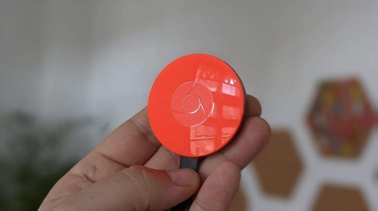 Google Chromecast 3 Rot Head