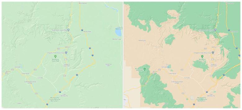 Google Maps Kartenupdate August 2020 (1)