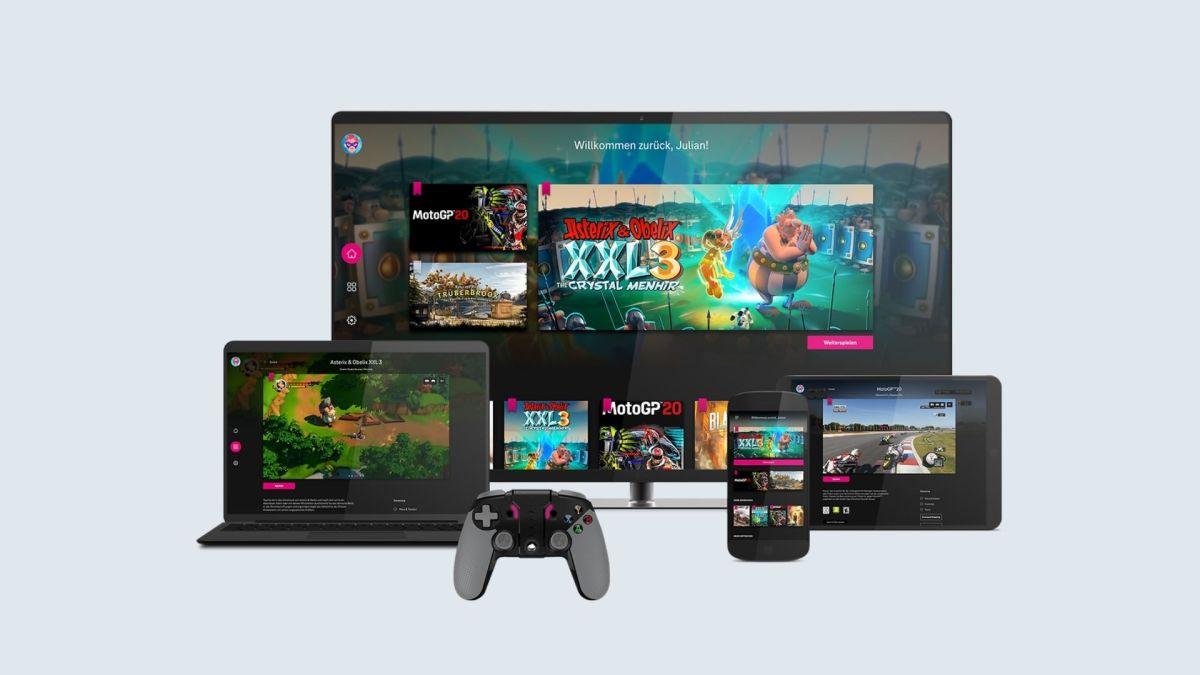 Telekom Magenta Gaming Header