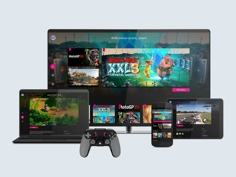 Telekom Magenta Gaming Header