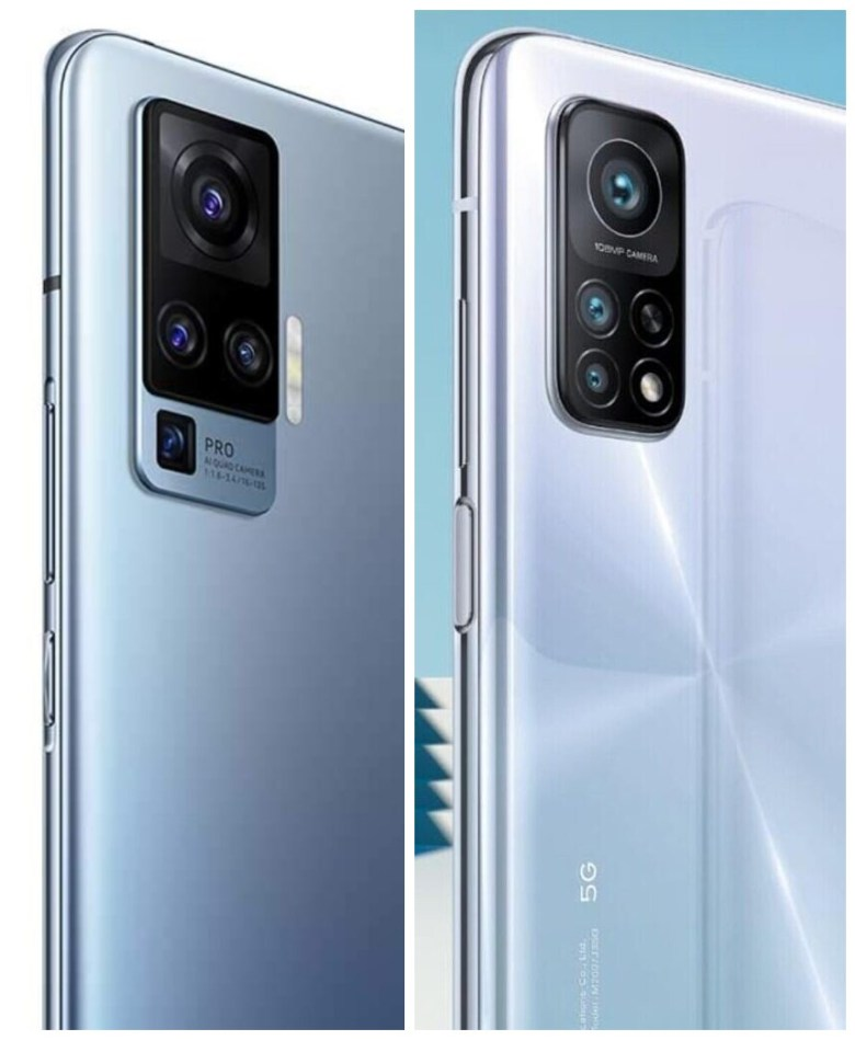Vivo X50 Pro Xiaomi Mi 10t Pro