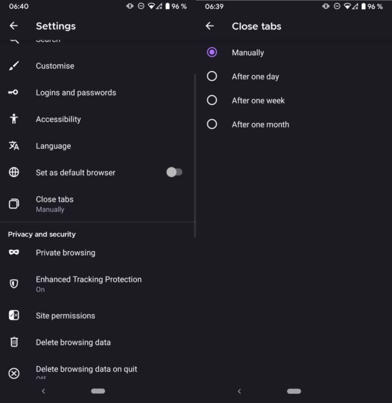 Close Tabs Firefox Screenshot Via Ghacks