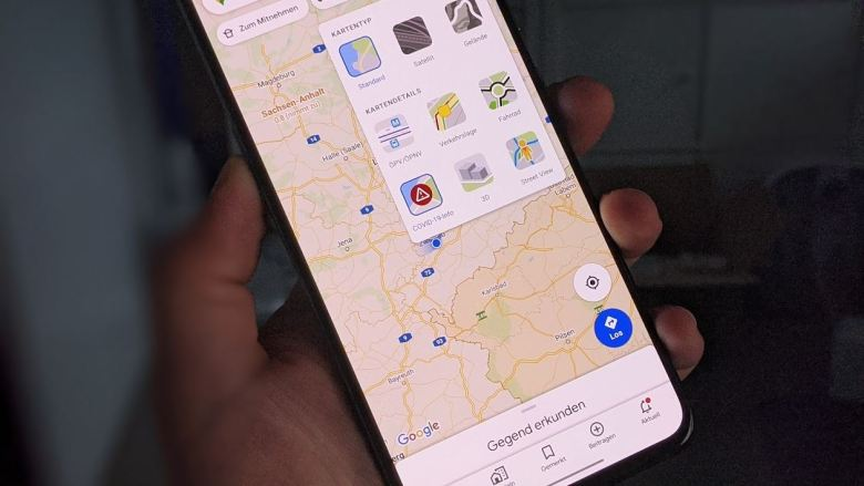 Covid 19 Ebene Layer Google Maps