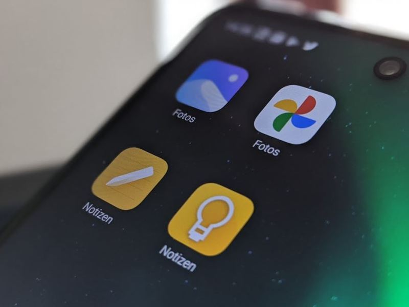 Doppelte Apps Google Fotos Notizen