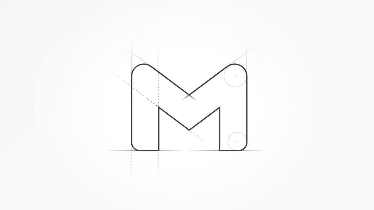 Gmail Logo Neu Skizze