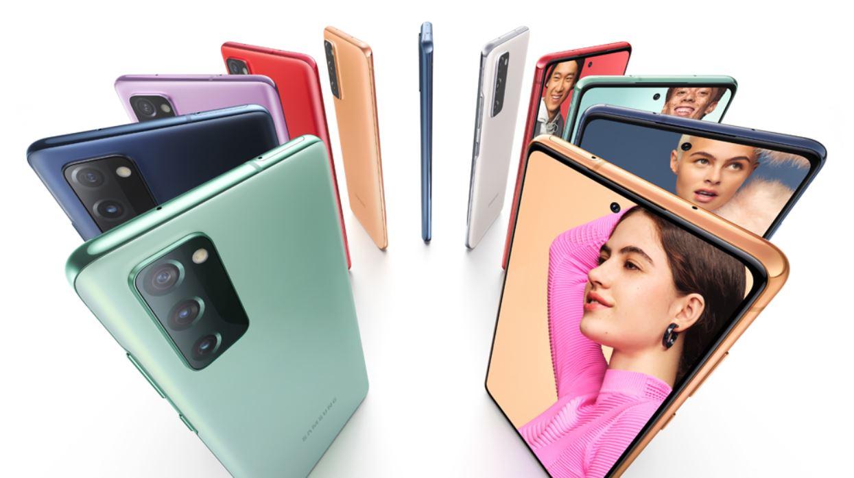 Samsung Galaxy S20 Fe Farben