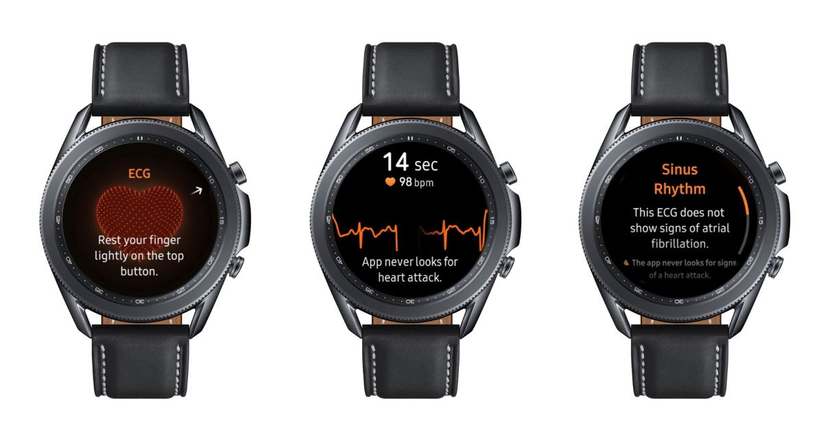 Samsung Galaxy Watch Ecg Ekg