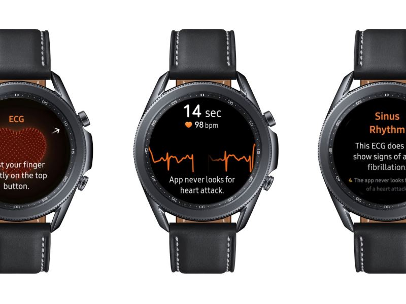 Samsung Galaxy Watch Ecg Ekg