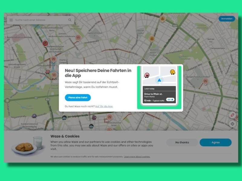 Waze Routenplanung Pc An Smartphone